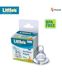 Little's Variflow Silicone Nipple Medium - 1 Piece