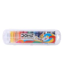Doms Oil Pastel 25 Shades - Multicolor