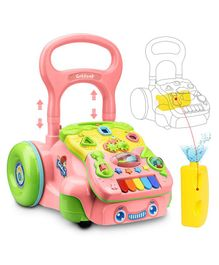 Smartcraft Activity Push and Pull Baby Walker - Multicolor
