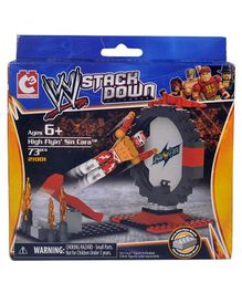 WWE Stackdown Starter Set High Flying Sin Cara Multicolour - 73 pieces