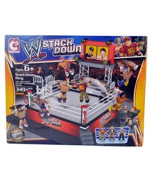 WWE Building Blocks Set Multicolor - 349 Pieces