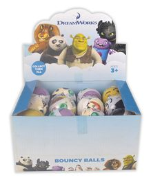 Dream Works Character Bouncy Balls - Multicolour