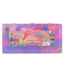 Looms Bracelets Making Set With Case Multicolour - Pack of 5000