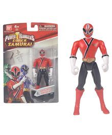 Power Rangers Super Samurai Figure Red - Height 11 cm