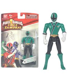 Power Rangers Super Samurai Figure Green - Height 11 cm