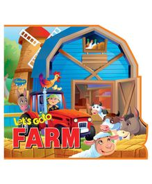 Let's Go to Farm Story Book - English