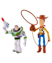 Toy Story Woody and Buzz Lightyear Arcade Pack of 2 Multicolour - Height 23 cm