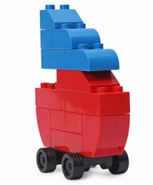 Mega Bloks Let's Build Jumbo Blocks Box Multicolour - 90 Pieces