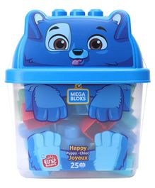 Mega Bloks Happy Puppy Building Sets Multicolour - 50 Pieces