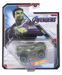 Hot Wheels Avengers Hulk Car - Green