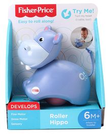 Fisher Price Musical Roller Hippo - Purple