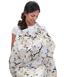 Mi Dulce An'ya Organic cotton, printed Nursing apron for moms
