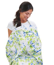 Mi Dulce An'ya Organic Cotton Nursing Cover - White