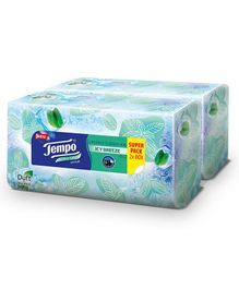Tempo Facial Tissue Box Limited Edition Pack of 2 - 70 Pieces Each