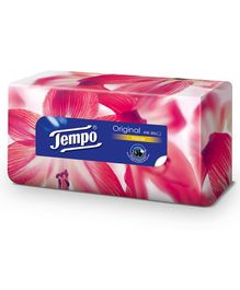 Tempo Facial Tissue Classic Box - 80 Pieces