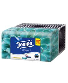 Tempo Facial Tissue Classic Box Pack of 2 - 80 Pieces Each
