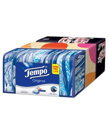 Tempo Facial Tissue Classic Box Pack of 3 - 80 Pieces Each