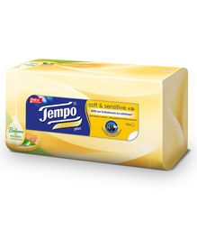 Tempo Facial Tissue Soft & Sensitive Plus Box - 70 Pieces