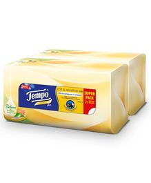 Tempo Facial Tissue Soft & Sensitive Plus Box Pack of 2 - 70 Pieces Each