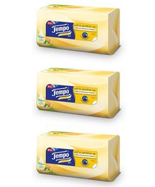 Tempo Facial Tissue Soft & Sensitive Plus Box Pack of 3 - 70 Pieces Each