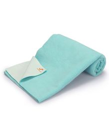 Umanac Dry Waterproof Bed Protector Small - Aqua Blue