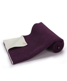 Umanac Dry Sheet Waterproof Bed Protector Small - Purple