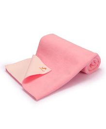 Umanac Dry Sheet Waterproof Bed Protector Large - Pink