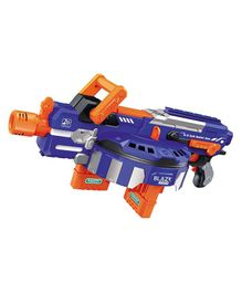 Webby Fully Automatic Blade Storm Soft Bullet Toy un - Blue Orange