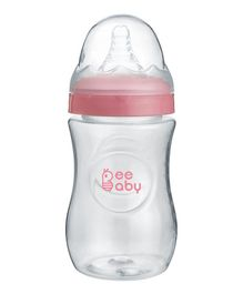 Beebaby Wide Mouth Feeding Bottle Pink - 300 ml
