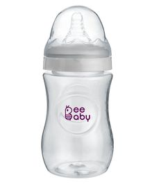 Beebaby Wide Mouth Feeding Bottle White - 300 ml
