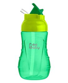 Beebaby Flippy Straw Sippy Cup Green - 250 ml