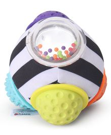 Sassy Chime n Chew Textured Ball - Multicolor