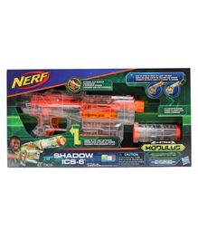 Nerf Modulus Shadow ICS-6 Illuminator Gun - Orange