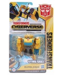 Transformers Cyberverse Warrior Class Bumblebee - Yellow