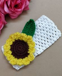 Knit Masters Sunflower Headband - Yellow
