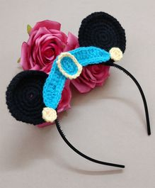 Knit Masters Jasmine Princess Hair Band - Blue