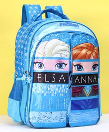 Disney Frozen Elsa & Anna Print Blue - Height 16 Inches