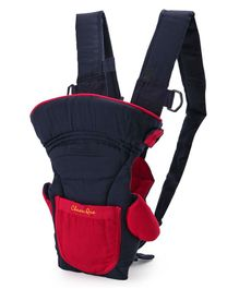 Soft Baby Carrier - Red Navy