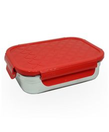Jaypee Lunch Box With Small Container - Red