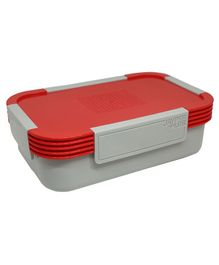 Jaypee Plus Taurus Lunch Box With Small Container - Red