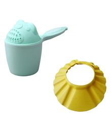 Syga Bath Cap And Rinser Pack of 2 - Blue