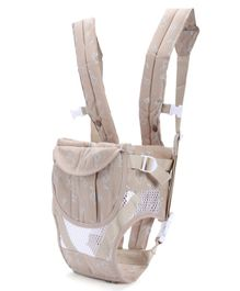 6 in 1 Soft Baby Carrier - Cream