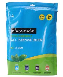 Classmate All Purpose Paper - 50 loose sheets