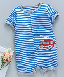 Style; Infant Size 9 Fashionable Humor Toms Romper Shoes In Blue In