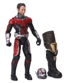 Marvel Avengers Ant Man Action Figure with Accessories Red Black - Height 15.5 cm