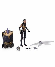 Marvel Wasp Action Figure with Accessories Black - Height 14.5 cm