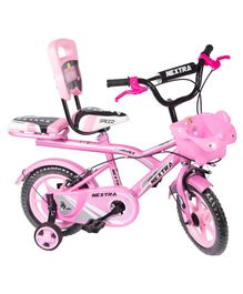 Speed Bird 12 T Robust Double Seat Bicycle - Pink