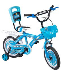 Speed Bird 14 T Nextra Bicycle With Back Carrier - Blue