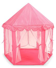 Kids Zone Dot Print Dream House Tent - (Color May Vary)