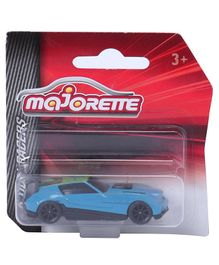 Majorette Friction Powered Racer Toy Car - Blue